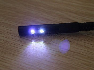 2. Adjustable brightness on lens-mounted LED lights for night vision