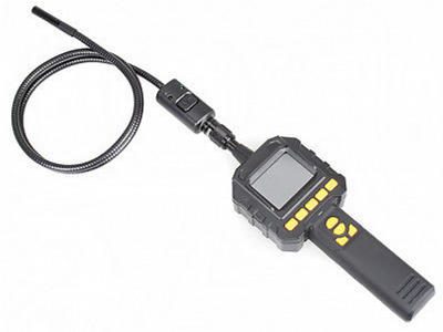 1. Fibrescope inspection camera with recordable monitor